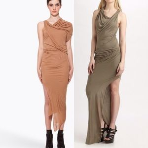 Helmut Lang Dresses & Skirts - Helmut Lang Asymmetrical Jersey Dress