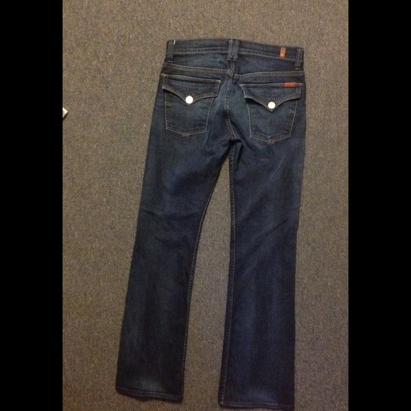 7 for all Mankind - 7 for all Mankind Flap Pocket Jeans 32 Stretch ...