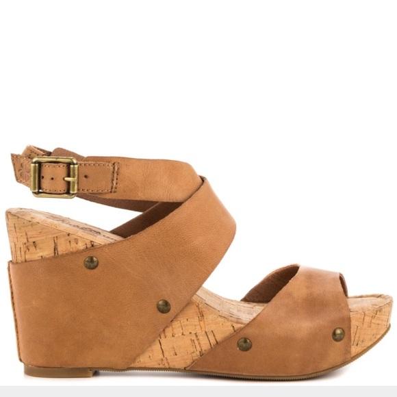28479d0855bf Lucky Brand Shoes - Lucky Moran Cork Wedges