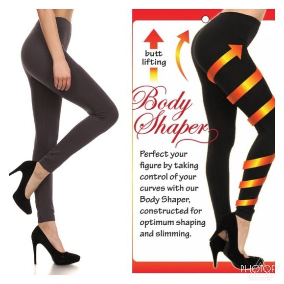 Charcoal Shaping Leggings