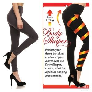Charcoal Shaping Leggings