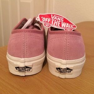 326b7c28ad03f1 Vans Shoes - Authentic (Vintage Suede) Prism Pink Vans