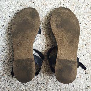 cc59355b0879 Madewell Shoes - Madewell Black Sightseer Sandals