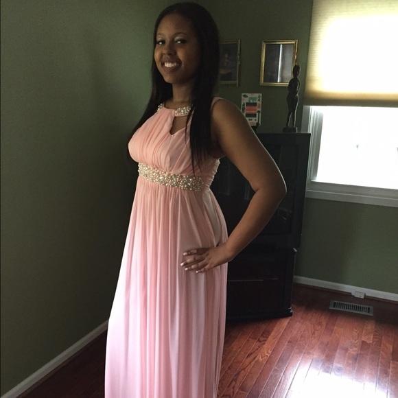 Macys Dresses Baby Pink Prom Dress Poshmark