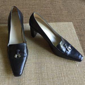 "Sz 7b Ralph Lauren shoes ""Carmella"" black heels"