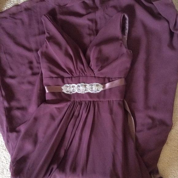 Lazaro Dresses & Skirts - 🆕Lazaro gown- bridesmaid or prom dress w sash!