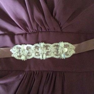 Lazaro Dresses - 🆕Lazaro gown- bridesmaid or prom dress w sash!