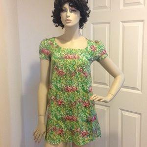 💞 Flowers bird dove tunic top or dress