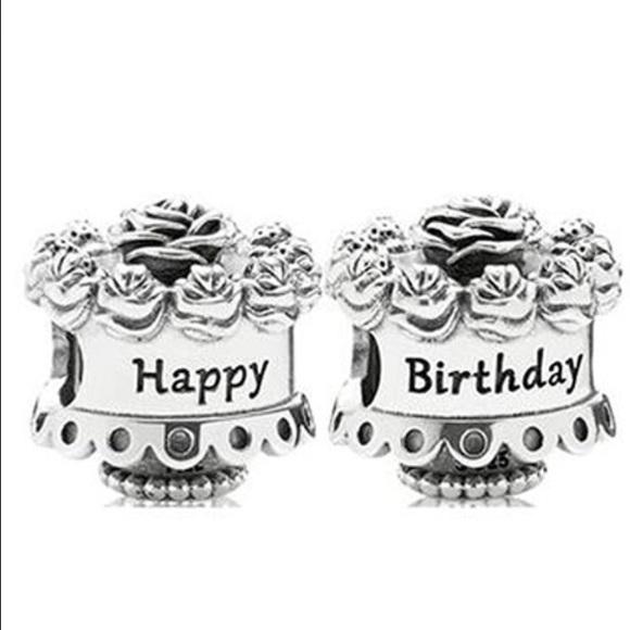 Pandora Happy Birthday Cake Charm Poshmark