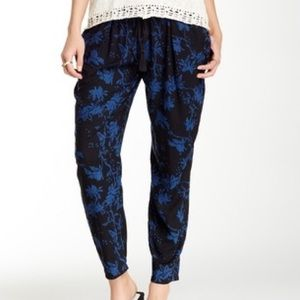 Lucky Brand Pants - Lucky Brand Blue Floral Pants
