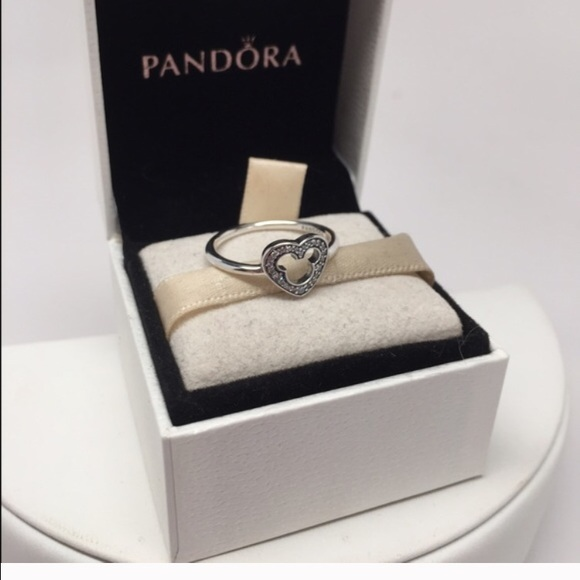 595a4610d ... promo code for pandora mickey silhouette ring size 7 7bacf acc94
