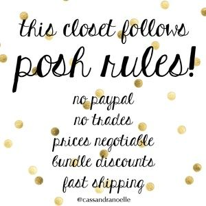 Other - ✨Posh Rules✨