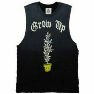 UNIF Clothing 'GROW UP' Sleeveless Tee