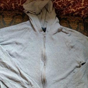 Sweaters - Gray hoodie