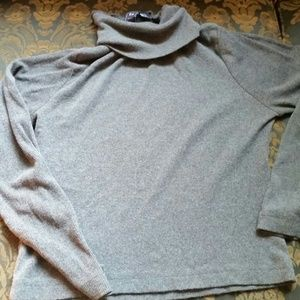 Sweaters - Turtle neck gray sweater