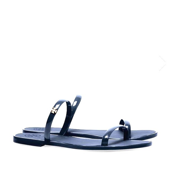7bfad16dbc28 Tory Burch two-band jelly slide sandals