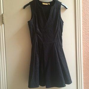 Princess Vera Wang black dress