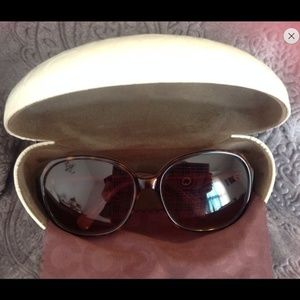 Women's Coach Milly Tortoise sunglasses