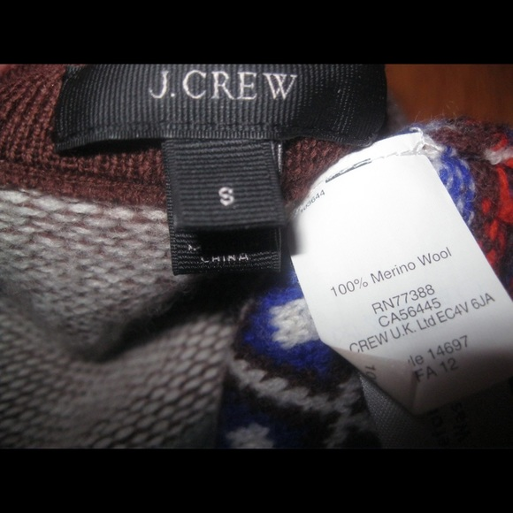 67% off J. Crew Sweaters - SOLD HP 9/23 J Crew Inside Out Fair ...