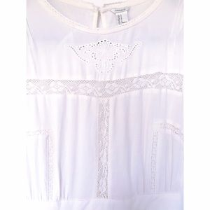 F21 Cream Lace Dress
