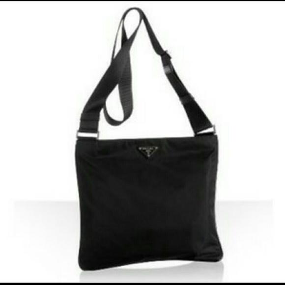 d6f063ba361 Prada Bags   Soldauthentic Nylon Messenger Bag   Poshmark