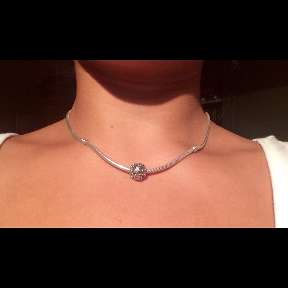 Pandora Silver Necklace 50cm: Pandora Charm Necklace Charm Necklace Pandora