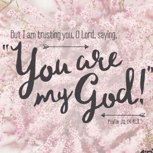Praising my Savior!