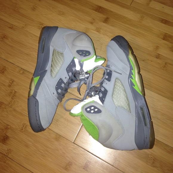 san francisco cad64 91385 Jordan Shoes - Green Bean 5s