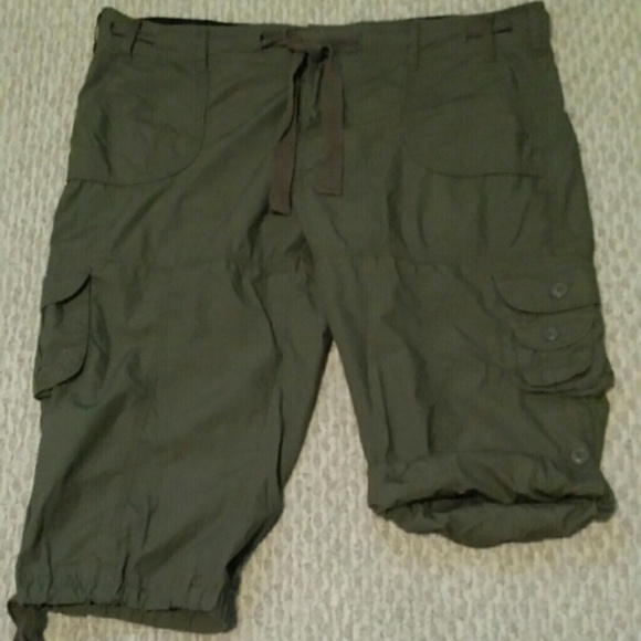 Beautiful Calvin Klein Cargo Pant W Zips Black  Shipped Free At Zappos