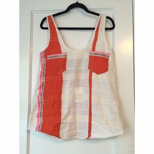 Ace & Jig Tops - Ace & Jig Smith Tank in Pop, NWT! S