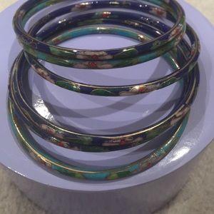 8 bangle bracelets
