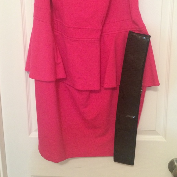 68 forever 21 dresses skirts pink with black mesh