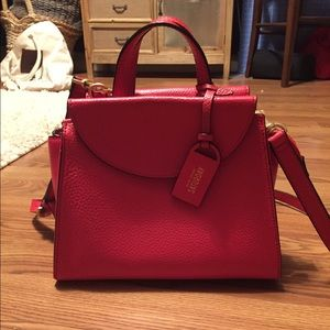 Red Saturday Kate Spade purse