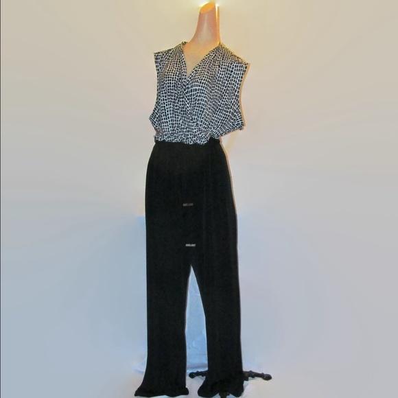 56bc8ec30484 Calvin Klein Dresses   Skirts - 20% off! Calvin Klein Jumpsuit Black White  size