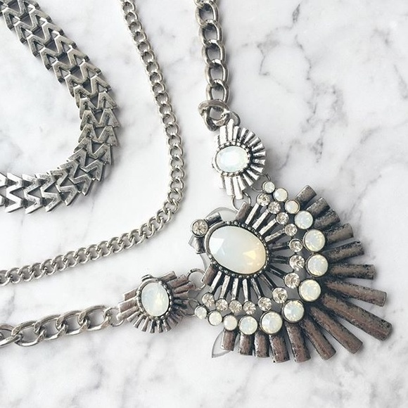edgy statement necklace os from hindy s closet on poshmark