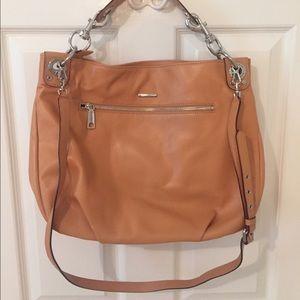 Tan Rebecca Minkoff bag