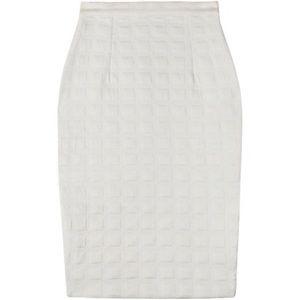 Shakuhachi Dresses & Skirts - HP 💕 Shakuhachi white waffle pencil skirt