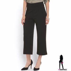 Thalian Pants - Thalian Black Gauchos 8, 10