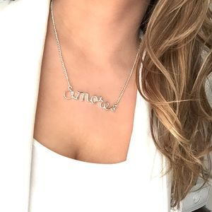 New York & Company Amore necklace