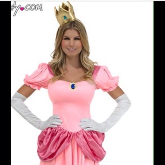 Princess Peach Halloween Costume  sc 1 st  Poshmark & Yandy Other | Princess Peach Halloween Costume | Poshmark