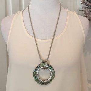 Noelle Jewelry - Beautiful abalone necklace