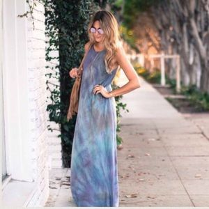 Sale! | New Junim L.A. Silk Maxi Dress