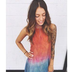 🌙 HUGE Sale!   New Junim L.A. Silk Maxi Dress