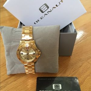 Oceanaut Jewelry - Gold watch
