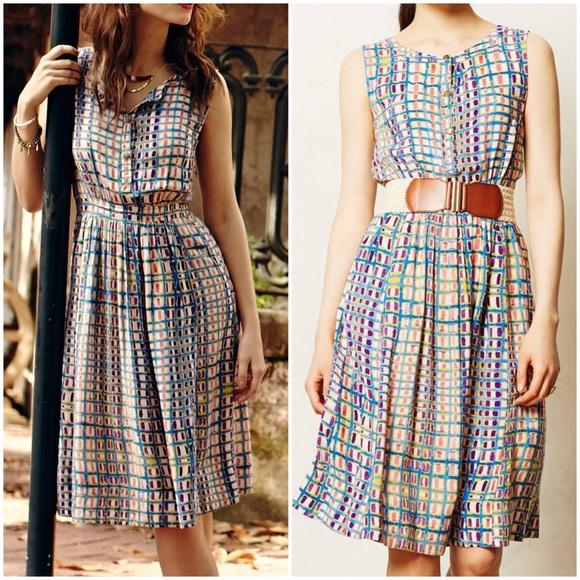 4ae9aae22832 Anthropologie Dresses & Skirts - Anthropologie Sunchecked Shirtdress Tracy  Reese