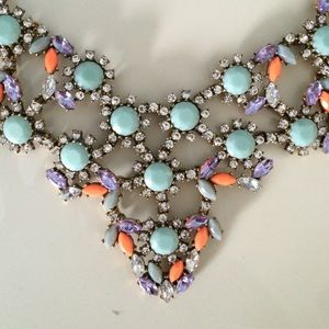 J. Crew Jewelry - Jcrew neon and pastel necklace