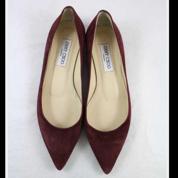 Jimmy Choo Shoes | Jimmy Choo Burgundy