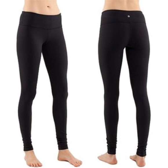 38 off lululemon athletica pants plain black lululemon