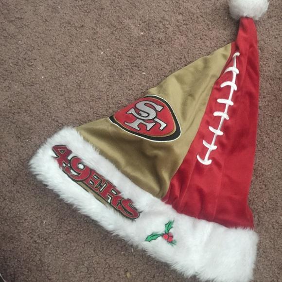 2246c8ff9 San Francisco 49ers Christmas hat. M 55f330d25c12f82a1800584b