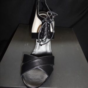New Rebecca minkoff black pump sandal- size 9.5m